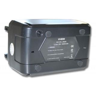 Batteria per AEG Milwaukee M28 BX/ MC28, 28 V, 3.0 Ah