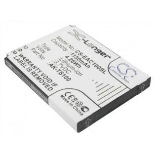 Batteria per Emporia AK-TS100, 1150 mAh
