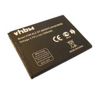 Batteria per Alcatel OT-4010 / OT-4030 / OT-5020, 1550 mAh