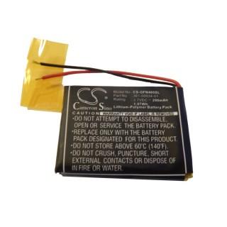 Batteria per Garmin Foretrex 401 / 405, 290 mAh