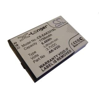Batteria per Emporia AK-V33i, 1750 mAh