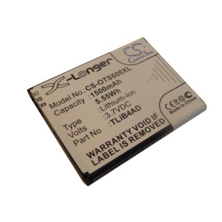 Batteria per Alcatel One Touch View, 1500 mAh