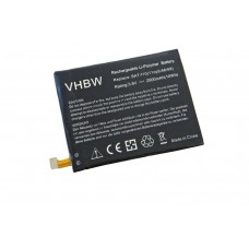 Batteria per Acer Liquid E600, 2500 mAh