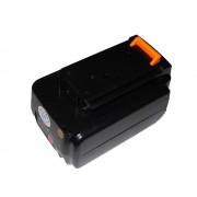 Batteria per Black & Decker BL1336 / BL2036, 36 V, 1.5 Ah