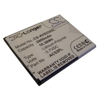 Batteria per Archos 53 Platinum, 2800 mAh