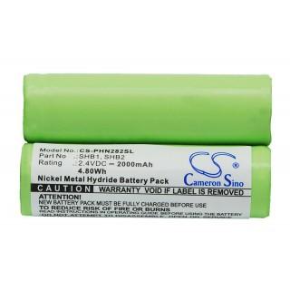 Batteria per Braun 4510 / Philips Norelco 7610X, 2000 mAh