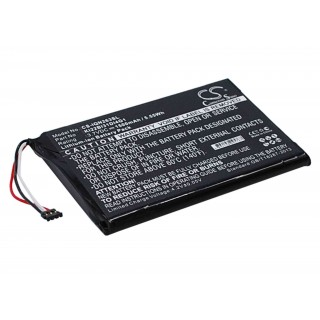 Batteria per Garmin Nüvi 2689LMT, 1500 mAh