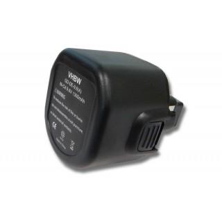 Batteria per DeWalt DW902 / DW955K / Black & Decker CD9600K / PS3200, 9.6 V, 1.5 Ah