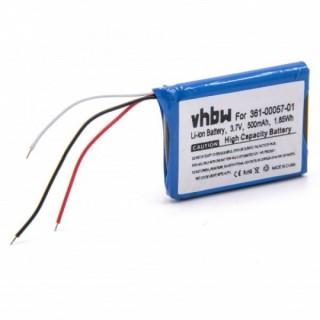 Batteria per Garmin Forerunner 910 XT, 500 mAh
