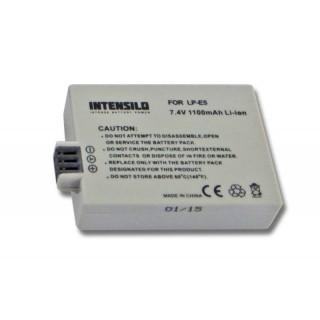 Batteria LP-E5 per Canon EOS-450D / EOS-500D / EOS-1000D, 1100 mAh