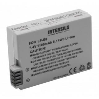 Batteria LP-E8 per Canon EOS 550D / EOS 600D / EOS 650D /EOS 700D, 1100 mAh