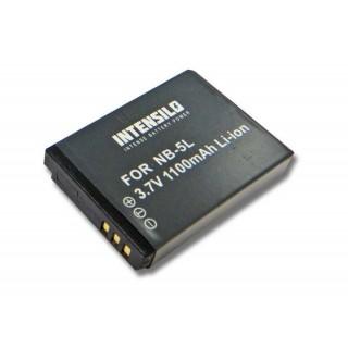 Batteria NB-5L per Canon PowerShot S100 / IXUS 950, 1100 mAh