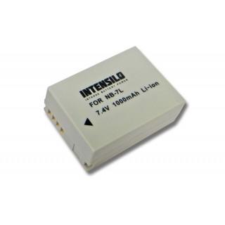Batteria NB-7L per Canon PowerShot G10 / G11 / G12 / Powershot SX30, 1000 mAh