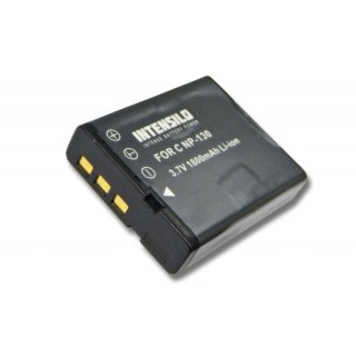 Batteria NP-130 per Casio Exilim EX-H30 / EX-ZR100 / EX-ZR200, 1800 mAh