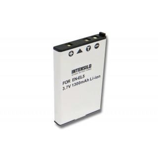 Batteria EN-EL5 per Nikon Coolpix 3700 / 4200 / 5200, 1300 mAh