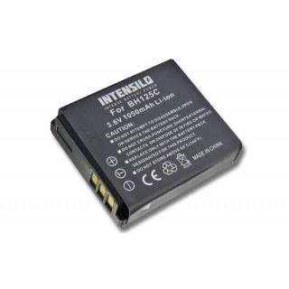 Batteria IA-BH125C per Samsung HMX-R10 / Pentax Optio X90, 1050 mAh
