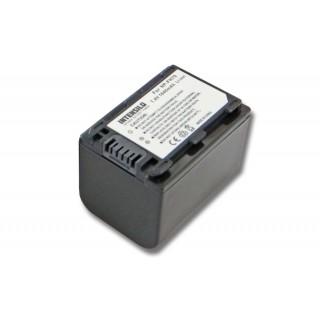 Batteria NP-FH70 per Sony DCR-DVD908E / DCR-HC47 / HDR-CX11E, 1640 mAh