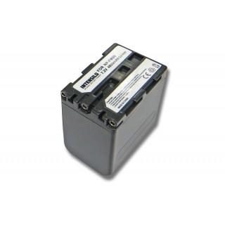 Batteria NP-FM50 per Sony CCD-TRV106K / CCD-TRV108, 4800 mAh
