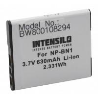 Batteria NP-BN1 per Sony DSC-WX5 / DSC-TX5 / DSC-TX7, 630 mAh