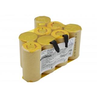 Batteria per Black & Decker DV9605, 3000 mAh