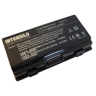 Batteria per Asus X51 / X53 / T12 / A32, 6000 mAh