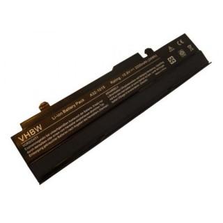 Batteria per Asus Eee PC 1011 / 1015 / 1016, nera, 2200 mAh