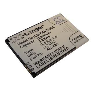 Batteria per Emporia AK-V25, 1050 mAh