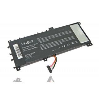 Batteria per Asus VivoBook S451, 5050 mAh