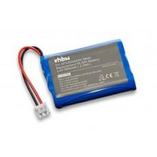 Batteria per Audioline Baby Care V100, 900 mAh