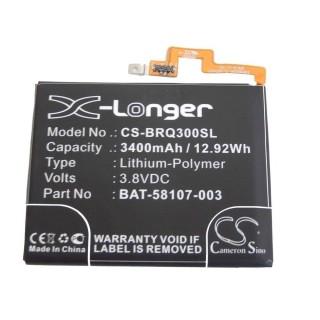 Batteria per Blackberry Passport / Q30, 3400 mAh