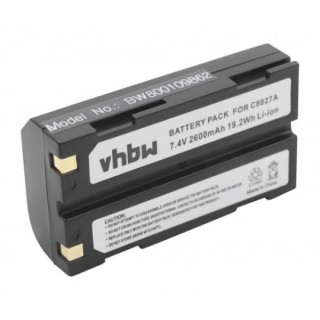 Batteria D-LI1 per Pentax EI-2000 / HP PhotoSmart 912, 2600 mAh