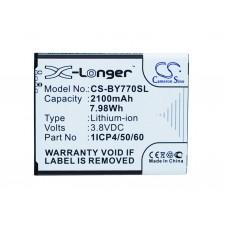 Batteria per Beurer Babyphone BY77 / 952-62, 2100 mAh