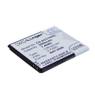 Batteria per Acer Liquid C1, 2000 mAh