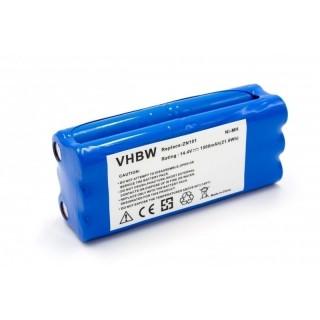 Batteria per Ecovacs Dibea ZN101 / Dirt Devil Libero, 1500 mAh