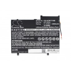 Batteria per Acer Aspire Switch 11 SW5-171, 2900 mAh