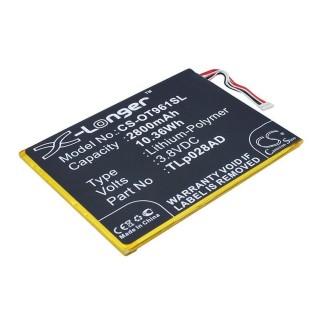 Batteria per Alcatel One Touch Pixi 7, 2800 mAh