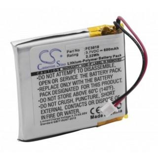 Batteria FC3010 per Acme FlyCam 3, 600 mAh