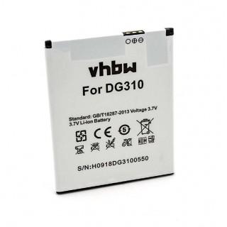 Batteria per Doogee Voyager2 DG310, 2000 mAh