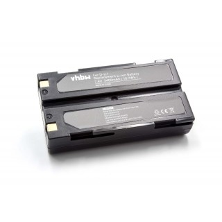 Batteria D-LI1 per Pentax EI-2000 / HP PhotoSmart 912, 3400 mAh