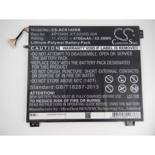 Batteria per Acer Aspire One CloudBook, 4700 mAh