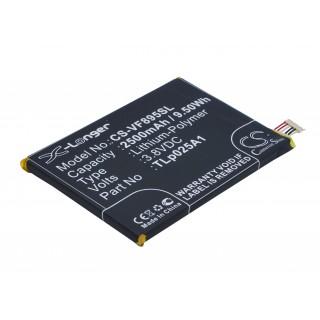 Batteria per Alcatel One Touch Pop 2, 2500 mAh