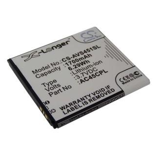 Batteria per Archos 45c Platinum, 1700 mAh