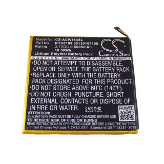 Batteria per Acer Iconia Tab A1-840, 5000 mAh