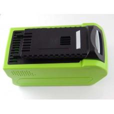 Batteria per Greenworks 24252 / 29282, 40 V, 5.0 Ah