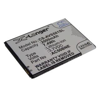 Batteria per Archos 50b Neon, 2000 mAh
