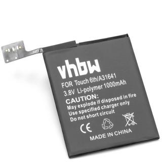 Batteria per Apple iPod Touch 6G, 1000 mAh