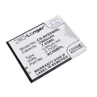 Batteria per Archos 50b Platinum, 1900 mAh