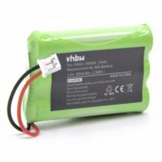 Batteria per Motorola MBP33 / MBP36 / MBP43, 800 mAh