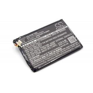 Batteria per Acer Iconia One B1-A71 / Iconia Tab B1, 2400 mAh