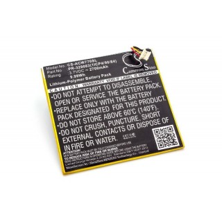 Batteria per Acer Iconia One 7 / B1-770, 2700 mAh